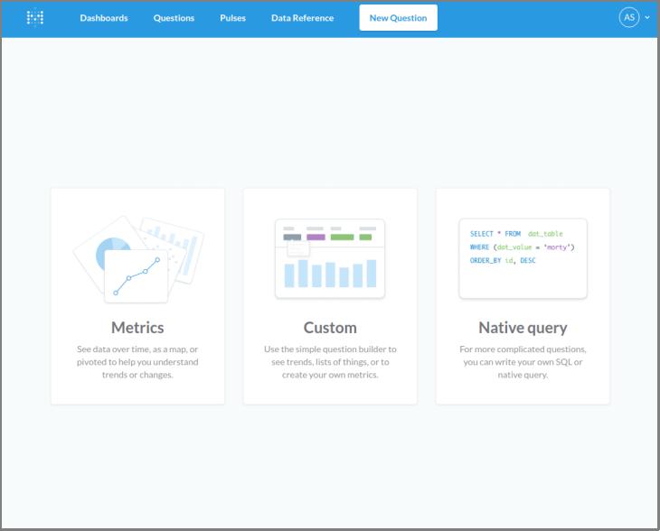 Metabase Questions erstellen