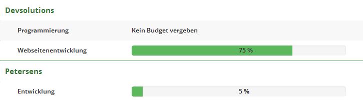 Budgeteinhaltung