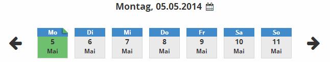 Datum waehlen