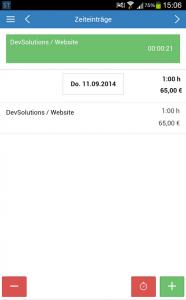 SpikeTime App für Android und iOS